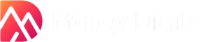 Maley Digital White Logo PNG